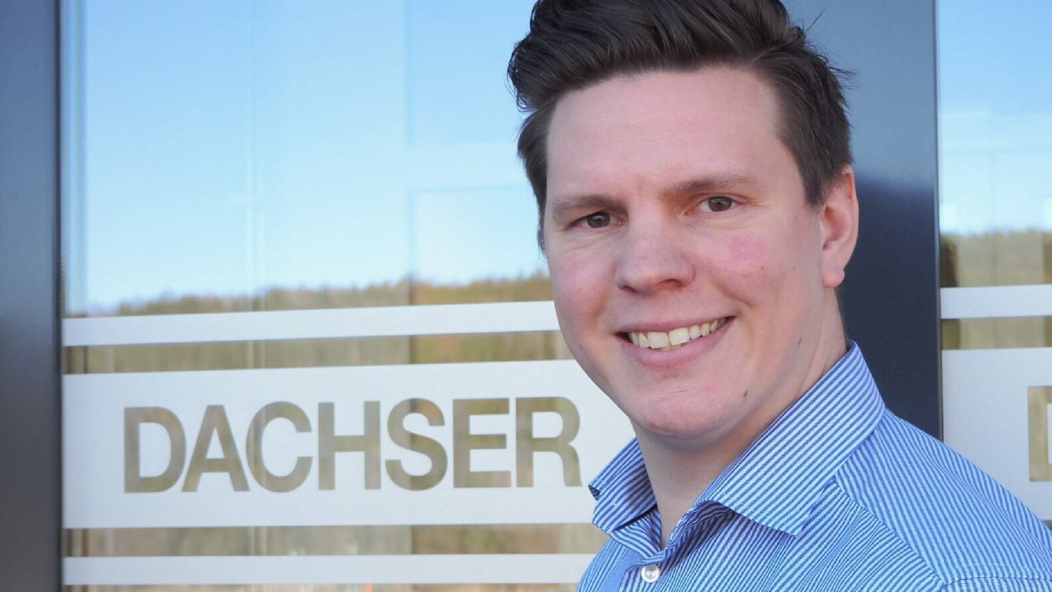 Marius Jahr, Operations Manager hos DACHSER Norway.