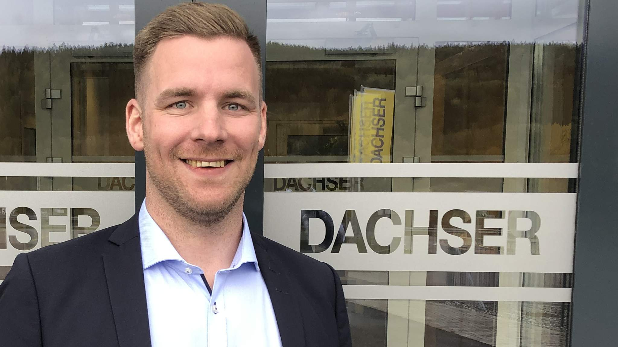 Mikael Hansson, Business Development Manager for DACHSER Norway AS.